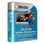 4Media 2D to 3D Video Converter