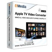 4Media Apple TV Video Converter for Mac