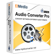4Media Audio Converter Pro for Mac