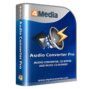 4Media Audio Converter Pro