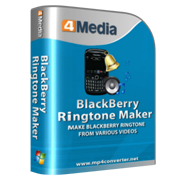 4Media BlackBerry Ringtone Maker