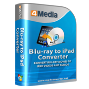 4Media Blu-ray to iPad Converter