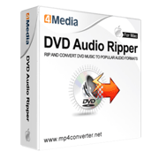 4Media DVD to Audio Converter for Mac