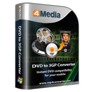 4Media DVD to 3GP Converter