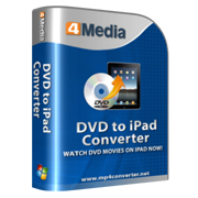 4Media DVD to iPad Converter