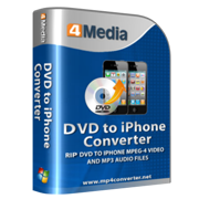 4Media DVD to iPhone Converter