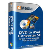4Media DVD to iPod Converter SE