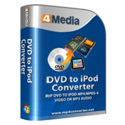 4Media DVD to iPod Converter
