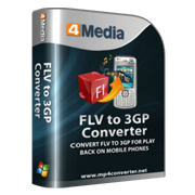 4Media FLV to 3GP Converter