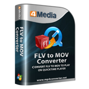 4Media FLV to MOV Converter