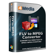 4Media FLV to MPEG Converter