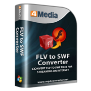 4Media FLV to SWF Converter