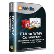 4Media FLV to WMV Converter