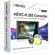 4Media HEVC-H.265 Converter for Mac