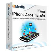 4Media iPhone Apps Transfer for Mac