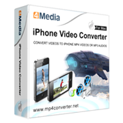 4Media iPhone Video Converter for Mac