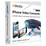 4Media iPhone Video Converter for Mac