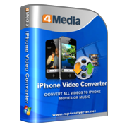 4Media iPhone Video Converter