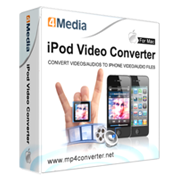 4Media iPod Video Converter for Mac