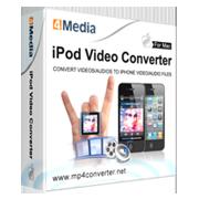 4Media iPod Video Converter for Mac