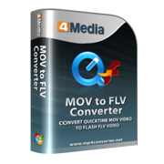 4Media MOV to FLV Converter