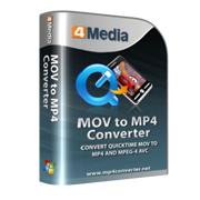 4Media MOV to MP4 Converter