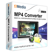4Media MP4 Converter for Mac