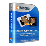 4Media MP4 Converter