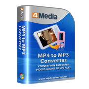برنامج 4Media MP4 to MP3 Converter 6.8.0.1101   Crack m-mp4-to-mp3-convert