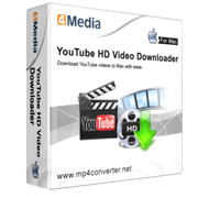 4Media YouTube HD Video Downloader for Mac