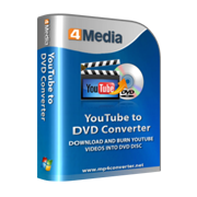 4Media YouTube to DVD Converter