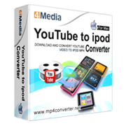 4Media YouTube to iPod Converter for Mac