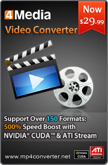 4Media Video Converter for Windows