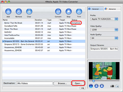 How to convert videos to Apple TV format Mac