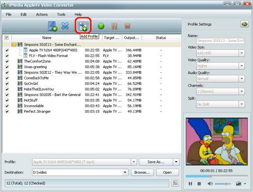 4Media Apple TV Video Converter
