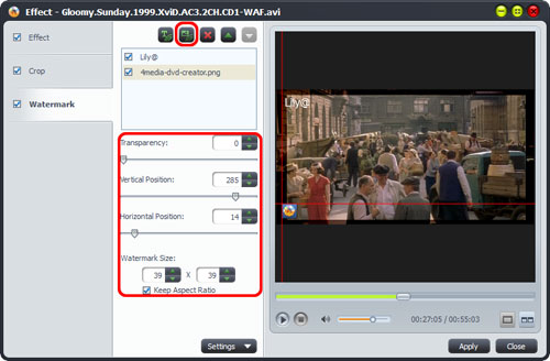 AVI to DVD Converter tool