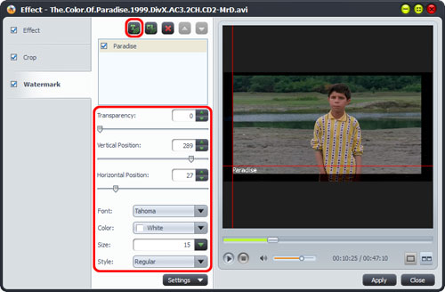 DivX to DVD converting tool
