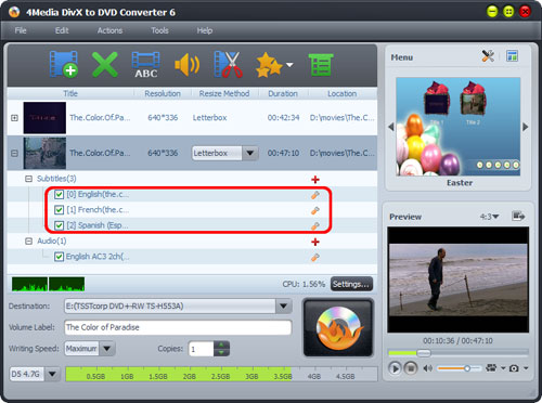 How to convert DivX to DVD
