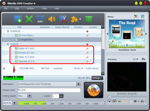 How to convert VOB files to DVD