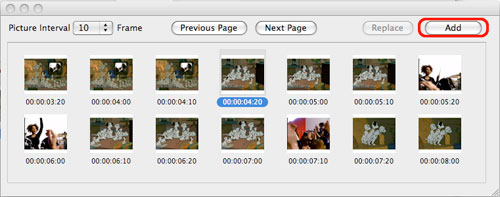 how to capture frame or movie screen from DVDs on a Mac