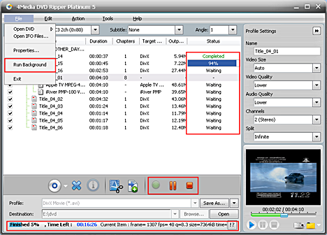 DVD to AVI Converter