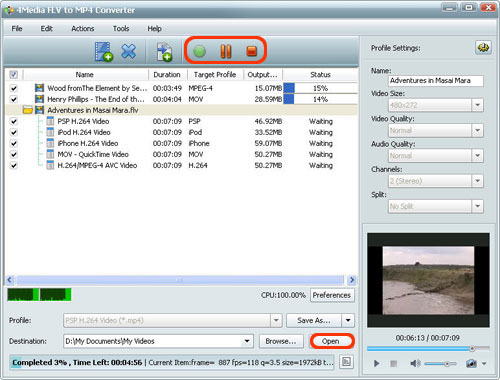 How to coonvert FLV to MP4 format