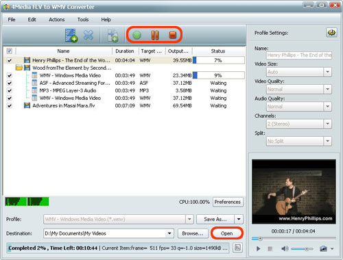 How to do FLV to WMV conversion