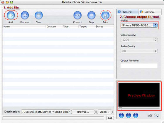 How to convert video to iPhone movie on Mac