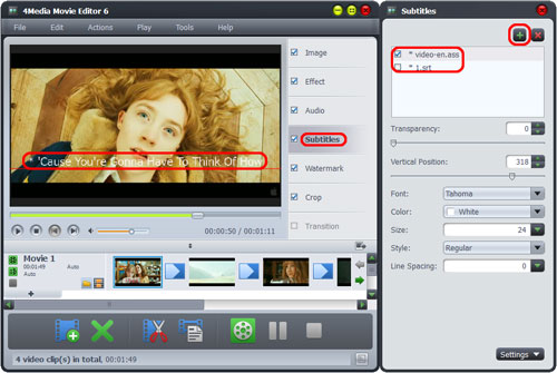 Make and edit videos