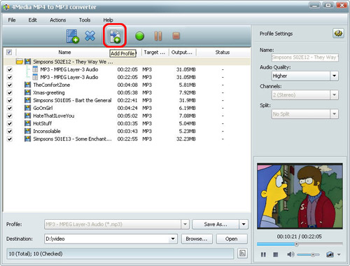 Converting MP4 to MP3