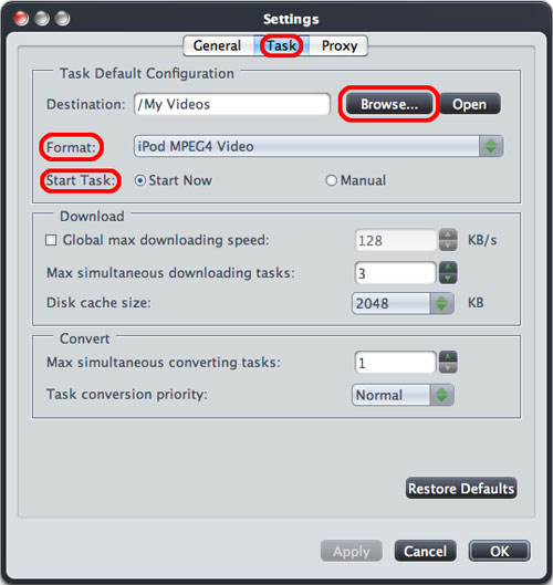 How to convert YouTube videos to iPod on Mac