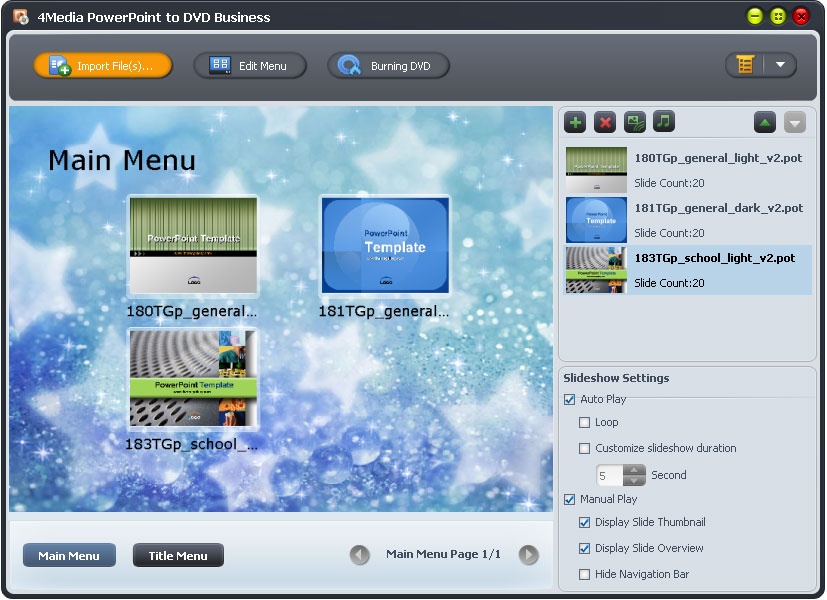 4Media PPT to DVD Converter