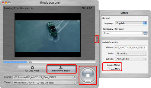 Create ISO from DVD, backup DVD on Mac