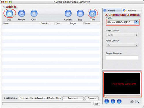 Convert ASF to iPhone MP4 on Mac